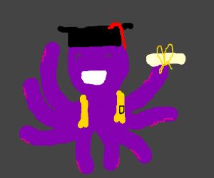 a octopus graduat