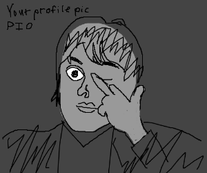 how to change profile picture drawception