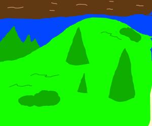 Ooh! Green Hills!