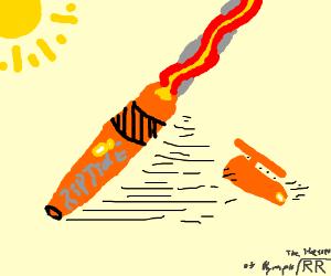 Celestial Bronze ballpoint pen