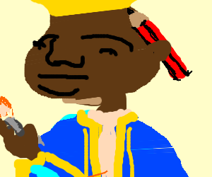 The artist formerly known as nigerian prince