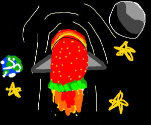 strawberry rocket
