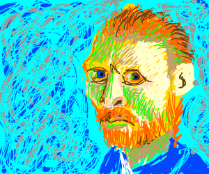 Vinecent van gogh self portrait