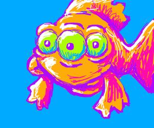 Mutated Simpsons Fish