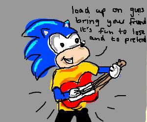 Sonic's Head reaches Nirvana