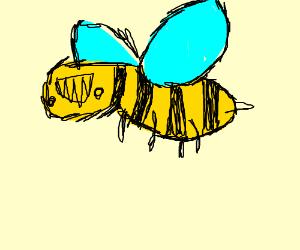 A weird wasp