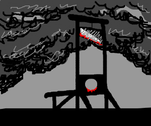 bloody guillotine