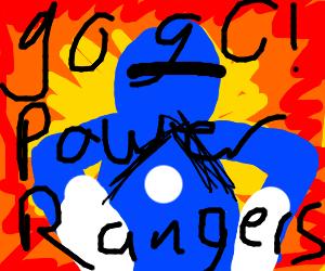 GO GO POWER RANGER (only one)