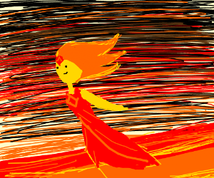 Flame Princess is surprisingly fast