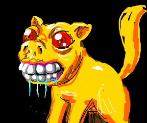 Yellow dog demon