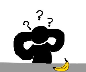 Questioning a banana