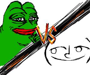 RARE PEPE.. vs.. LENNY