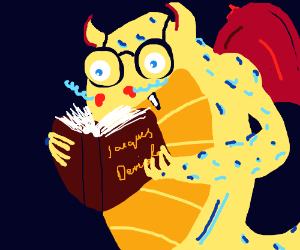 A Dragon with good literacy skills