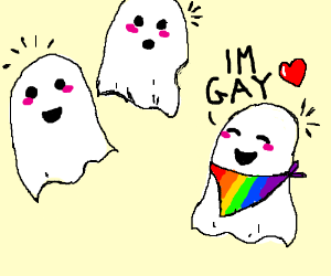 Ghost comes out as gay to other ghost