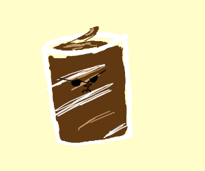 angry chocolate milk