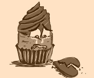 Cupcake is heartbroken