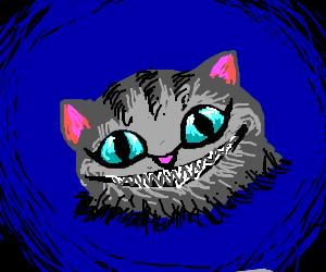 Cheshire Cat Alice In Wonderland 2010 Drawception