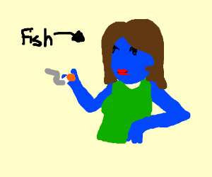 Step 1-Cast a spell to turn into a narwhal - Drawception