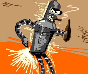 """Bite my metal ass!"" - Bender"