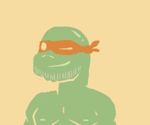Raphael (TMNT) but more handsome.