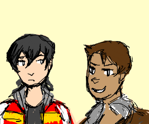 Lance and Keith from voltron