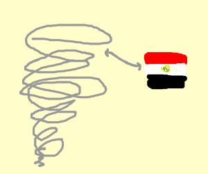 Egyptian Tornado