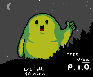 Free Draw! Use all 10 minutes! (PIO)