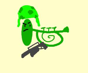 An army greenhorn