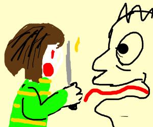 Surprised Priest - Drawception