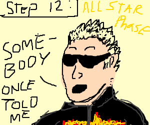 Step 12: Become an All-Star  (cue music)