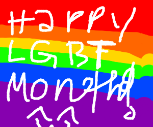happy LGBT pride month