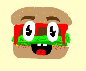 Sentient burger