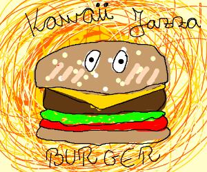Kawaii jazza burger