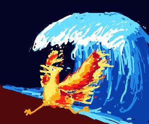 Fire Phoenix vs water