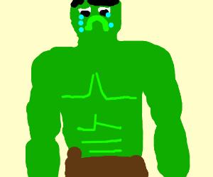 depressed hulk