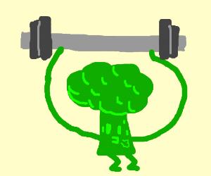 Powerful Broccoli - Drawception