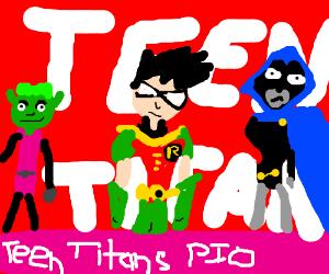 Teen Titans PIO