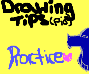 drawing tips PIO (use references)