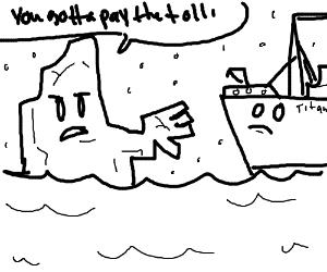 Icebergs are Tolls