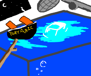 Cheap knock off of Titanic