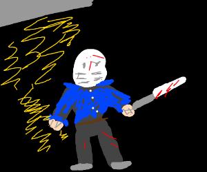 Jason(?) gets lightning powers