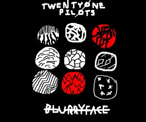 Twentyone Pilots cd cover