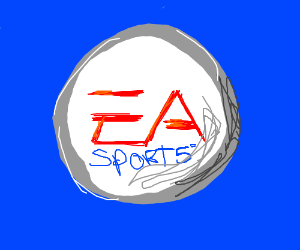 EA SPORTS  ITS IN THE GAME  - Drawception