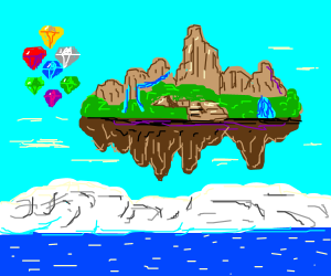Floating Island and Some Jewels