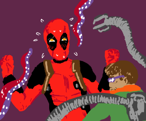 Deadpool gets kinky with Octopi