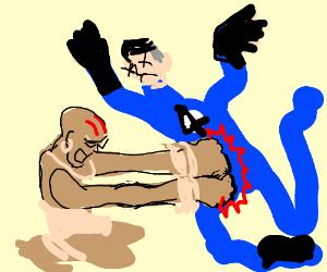 Dhalsim vs Mr Fantastic. FIGHT