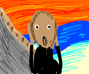the scream (famous painting)