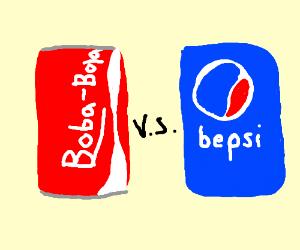 Boba-bola vs Bepsi