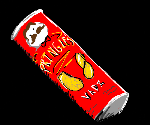 "A can of Pringles. ""Vadi"" flavor?"