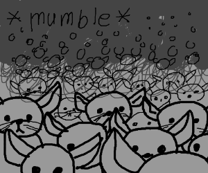 Many Mumbling Mice